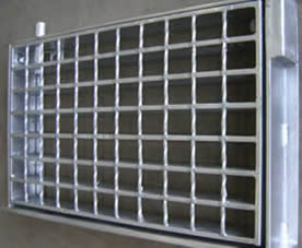 Application: welded wire grating