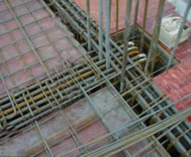Application: welded construction mesh