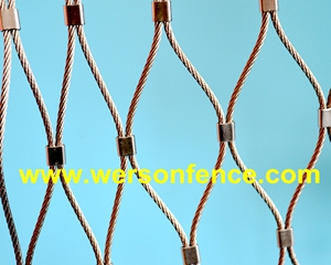 stainless steel ferrule cable mesh