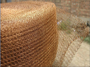 phosphor bronze knitted wire mesh