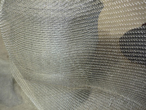 galvanized knitted wire mesh