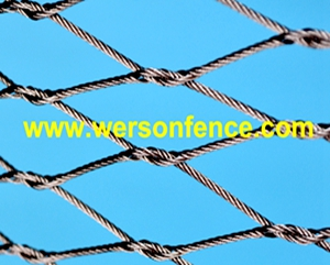 Flexible Stainless Steel knotted Cable Mesh